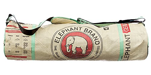 Large Yoga Mat Bag By Eco2use The Original Eco Bag Fits Large Yoga Mats Outside Storage Pockets Easy Access Zipper Includes Elephant Keychain Home Fitness