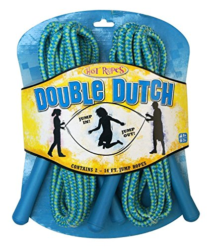how to double dutch jump rope step by step
